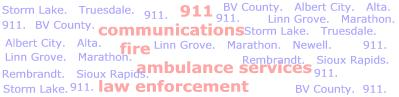 BV County 911 Services.
